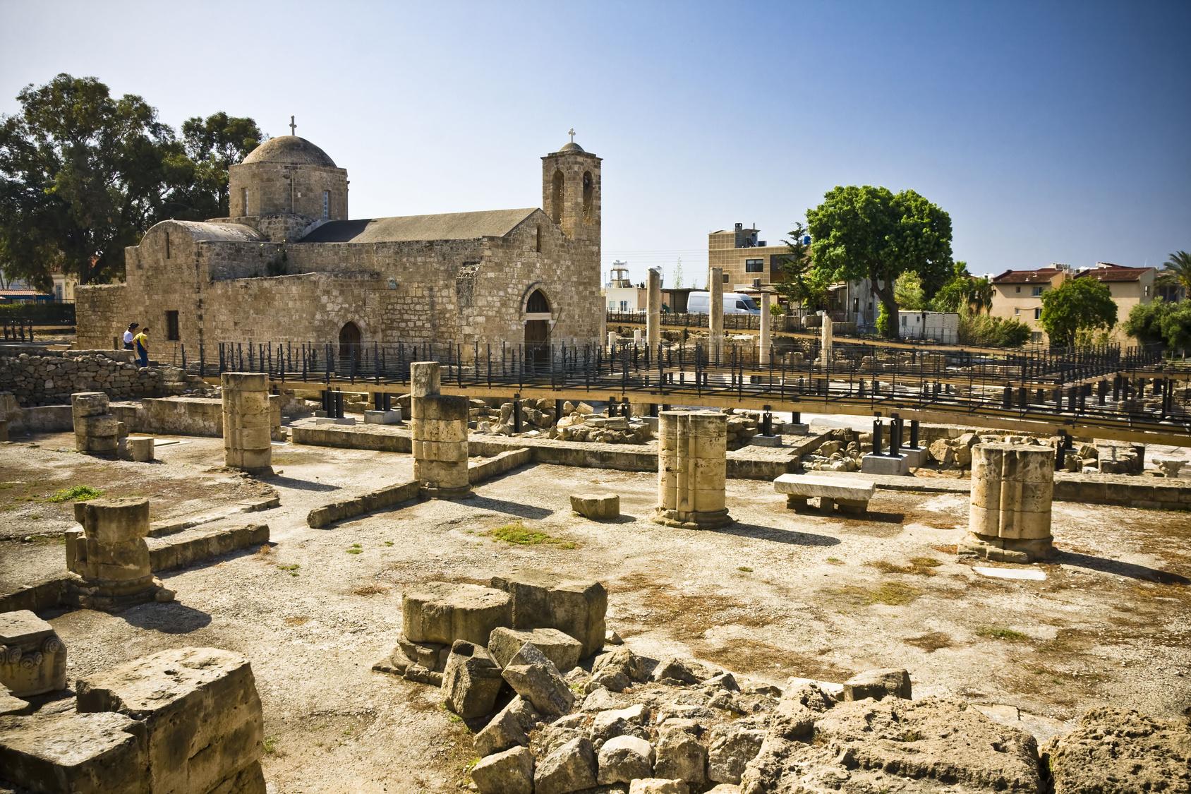 Kościół Agia Kyriaki z XI w.