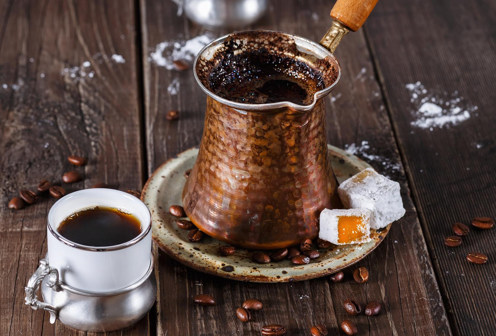 Tradycyjna kawa po cypryjsku
